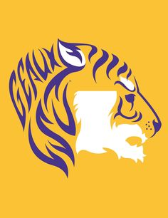 LSU Tiger - Gold. Love this shirt!