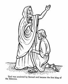 David and jonathan hacer clic en la imagen para agrandar for Bible coloring pages king saul