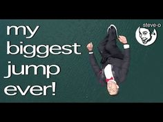 My Biggest Jump Ever! - Steve-O - YouTube