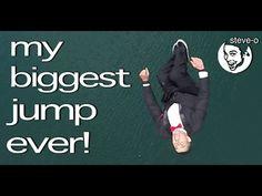 My Biggest Jump Ever! - Steve-O - YouTube