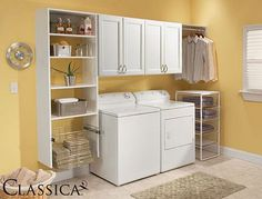 Attractive Ways of Laundry Room Cabinet Ideas to Create Clean and Safe Room: Laundry Room Remodeling Ideas With Decor With Laundry Room Colors Ideas And Colorful Laundry Room Ideas