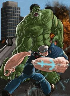 popeye vs hulk