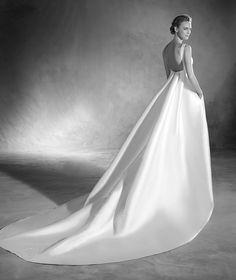 Elma - Brautkleid aus Mikado-Seide