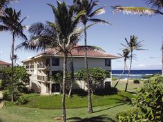 Wyndham Kaua`i Beach Villas Hawaii Beach Vacation #travel #dreamvacation #relax #oceanside #beachfront #ocean #oceanfront #couples #romantic #sand #surf