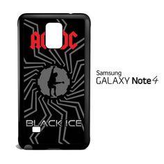 acdc logo wallpaper C0374 Samsung Galaxy Note 4 Case