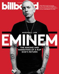 That's right, the real Slim Shady, Eminem, is on this week's cover!