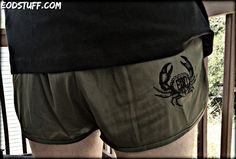 Vintage EOD Crab Logo on OD Green EOD Silkies – EOD Stuff by BombBullie