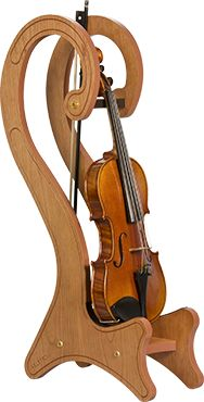 Wooden Stylized Violin/Viola Stand