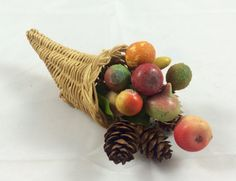 THANKSGIVING Vintage 1950s Miniature Fall by TwistedVintageEtsy