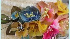 Image result for vintage flower hat