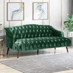 Shop Adelia Modern Glam Tufted Velvet 3 Seater Sofa by Christopher Knight Home - On Sale - Overstock - 28676368 Velvet Furniture, Home Furniture, Antique Furniture, Furniture Ideas, Speakeasy Decor, Chesterfield Style Sofa, Velvet Tufted Sofa, Futon Bed, Three Seater Sofa