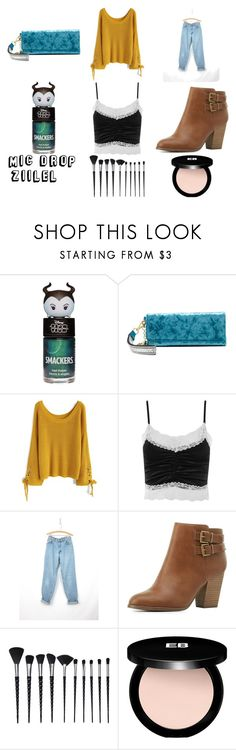 """""""#ootd (under $50!)"""" by cheapchicceleb ❤ liked on Polyvore featuring Christian Siriano, Chicwish, Topshop, Levi's, Charlotte Russe, Edward Bess, ootd, outfitoftheday and under50"""
