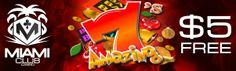 Miami Club Casino just launched the brand new online slot Amazing from WGS Casino Software! To celebrate the launch of the new game Miami Club is. Online Gambling, Online Casino, Miami Club, Casino Promotion, Casino Bonus, Casino Games, Online Games, Slot, Product Launch