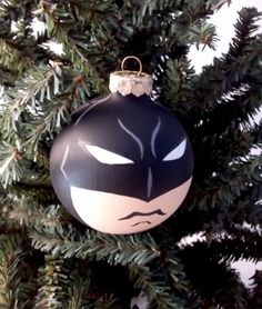 New Pics of Batman Dark Knight Painted Holiday Christmas Ornament from Ginger Pots! Joker, Harley Quinn, and Catwoman also available!