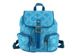 Azul coach backpacks .