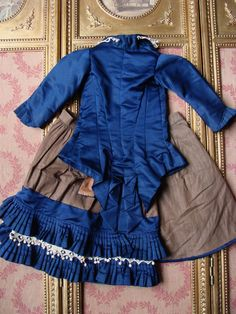 Nice antique costume for french Bebe. from les-fees-du-temps on Ruby Lane