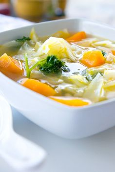 Mom's Vegetable Soup – Weight Watchers (1 Point)