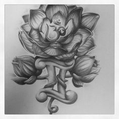 gemini lotus tattoo - Google Search