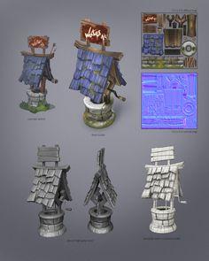 3D Well, Abel Oroz on ArtStation at https://www.artstation.com/artwork/3d-well