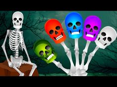 Learn Colors for Children Painted Hands Toys Finger Family Nursery Rhymes Video EggVideos.com - YouTube