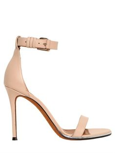 Givenchy 100mm Nadia Leather Sandals on shopstyle.com