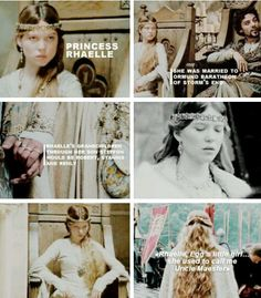 Rhaelle Targaryen, mother to Steffon, and grandmother to Robert, Stannis, and Renly. <3