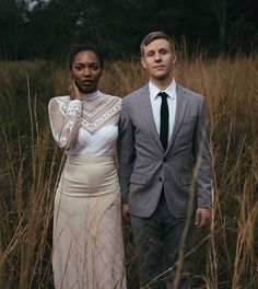 There is no more lovely, friendly and charming relationship, communion or company than a good marriage. Interracial Family, Interracial Marriage, Interracial Wedding, Black Woman White Man, Black Love, Black White, Mixed Couples, Cute Couples, Beautiful Love