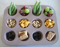 Muffin tin mealtime. Spice up lunch for your kids!
