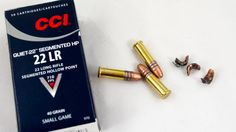 Break Tradition With Unconventional .22LR Ammo, The CCI Segmented HP breaks into three pieces on impact - great for varmint control.