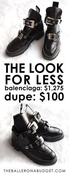 1d0e660e475 Designer Dupe  Balenciaga Ceinture Ankle Boot -  1