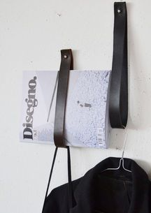 leather belt DIY interior / leren riem DIY