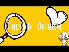 This video teaches children the difference between fact and opinion. I review fact and opinion before starting informational writing, to ensure my students a...