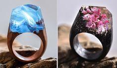 Dřevěné prsteny, Secret Wood