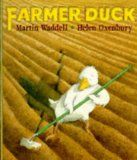 Farmer Duck (Book) : Waddell, Martin : When a kind and hardworking duck nearly collapses from overwork, while taking care of a farm because the owner is too lazy to do so, the rest of the animals get together and chase the farmer out of town. Toddler Books, Childrens Books, Toddler Class, Farmer Duck, Preschool Books, Children's Picture Books, Early Literacy, Farm Yard, Children's Literature