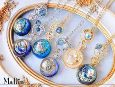 MaRin o'clock Self-ordering on - DIY Schmuck Inspiration Kawaii Jewelry, Kawaii Accessories, Cute Jewelry, Jewelry Crafts, Jewelry Accessories, Handmade Jewelry, Resin Jewelry Making, Resin Jewlery, Diy Resin Crafts