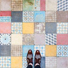 Londres como nunca antes la habías visto: los suelos más llamativos de la capital británica (FOTOS)