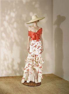 Andrés Otálora Resort 2019 - Discover the Collection Here! Elegant Dresses, Cute Dresses, Beautiful Dresses, Casual Dresses, Short Dresses, Fashion Dresses, The Dress, Dress Skirt, Evening Dresses