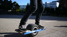 Onewheel is a self-balancing skateboard that will let you soar on the streets