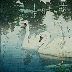 Two Swans, Allen W. Seaby