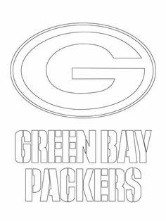 Nfl * green bay packers big g logo stencil * free usa s&h