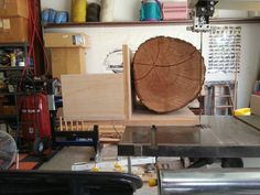 Bandsaw Sled for Resawing Logs & some BS Crosscuts - Woodworking creation by HorizontalMike - WoodworkingWeb