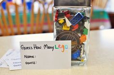 Simply Sara: Lego Party idea that would be a fun idea for a duplo party too. #LegoDuploParty