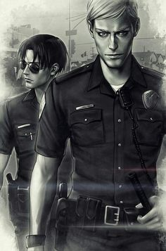 If I saw these two walking towards me I wouldn't know whether to run towards them or away! <3