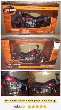 Harley-Davidson Motor Cycles 2004 Fat Boy Red Series 10 RC2 ERTL 1:10 NIB HTF! https #eBay #StoreName e_babyji http://www.ebay.com/itm/Harley-Davidson-Motor-Cycles-2004-Fat-Boy-Red-Series-10-RC2-ERTL-1-10-NIB-HTF-/122001124332?ssPageName=STRK:MESE:IT