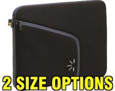 Case Logic Laptop Sleeve (Black)