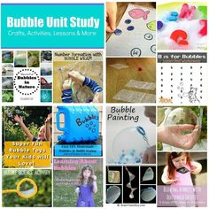 Science for Kids: Bubble Experiment