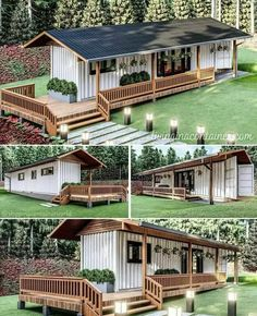 Tiny House Cabin, Tiny House Living, Tiny House Plans, Tiny House Design, Building A Container Home, Container Cabin, Container Home Designs, Shipping Container House Plans, Shipping Containers