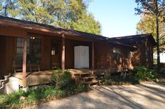18155 La Highway 16, Port Vincent. LA 70726 - And the back porch!