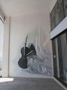 "Artist: INO   Athens - (Greece) - Gazi Area - 2013.  Photo: Thodoris Efstratiadis  Photo by Graffiti in Athens.  I just saw it today! (10/10/13), at a wedding dresses store ""Katalanos"".."