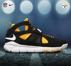 NIKE HUARACHE FREE SHIELD – 2012 NFL DRAFT PACK Steelers